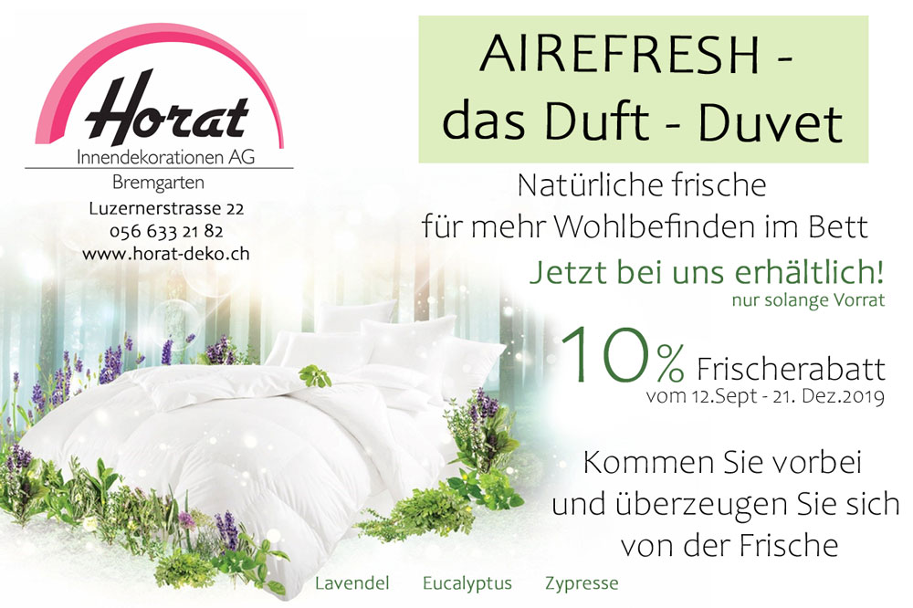 Sept Airefresh Duvet k